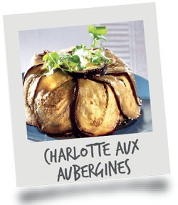 Charlotte aux Aubergines